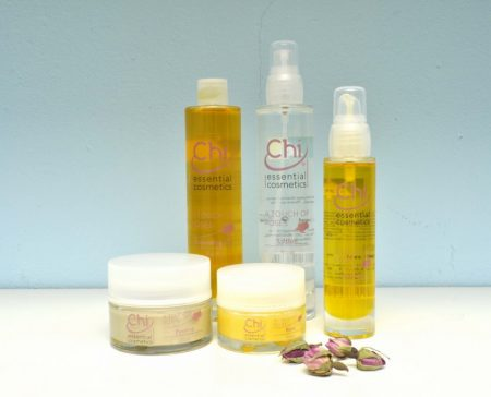 Chi Essential Cosmetics - A Touch of Roses - Peeling, Balm, Lotion