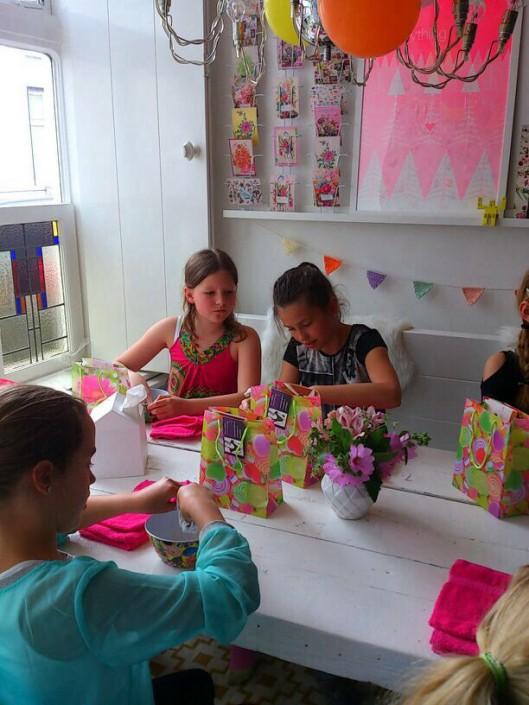 Kinderfeestje Breda Oosterhout Chi Workshop - Natuurlijk Kim