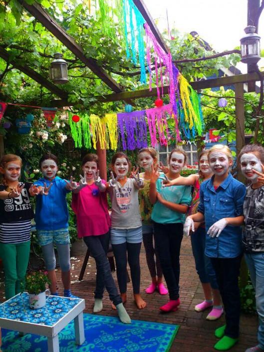 Kinderfeestje Maskertjes en verzorging Chi Workshop - Natuurlijk Kim